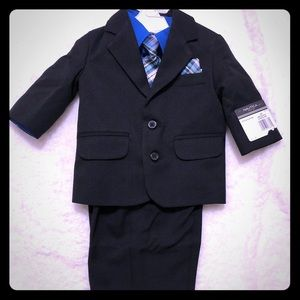 Baby boy formal 4 piece set